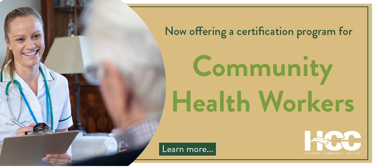 Now offering a certification program for community health workers.