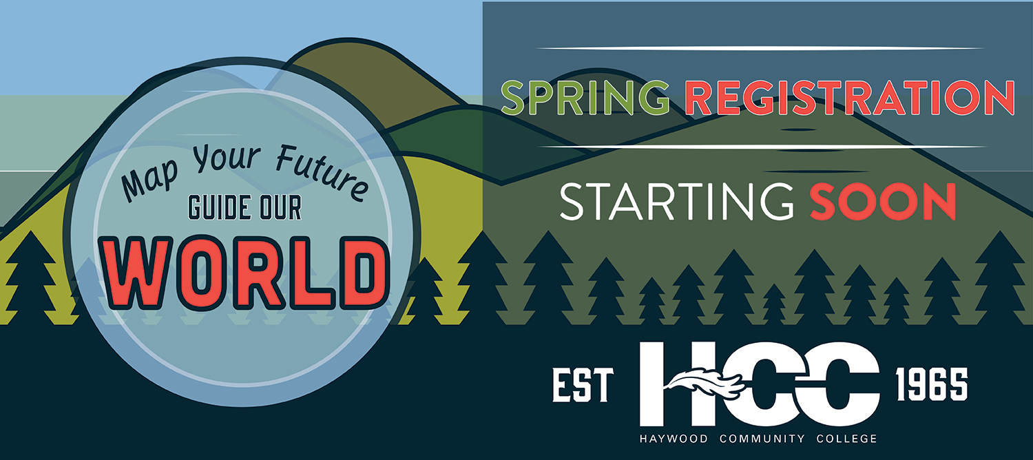 Haywood Community College spring registration will open soon.